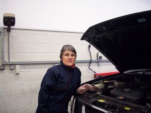 Kate Sleath practical car maintenance
